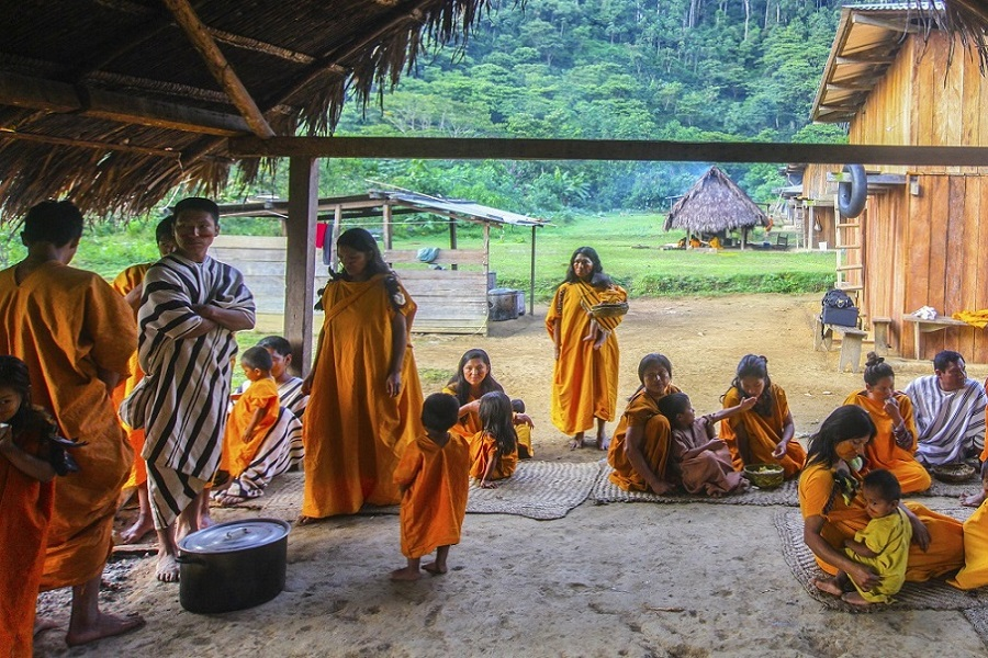 Gobierno garantiza atención a pueblos indígenas afectados por la pandemia