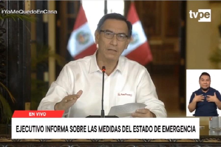 Presidente Vizcarra: más de 76,000 peruanos se recuperaron del covid-19
