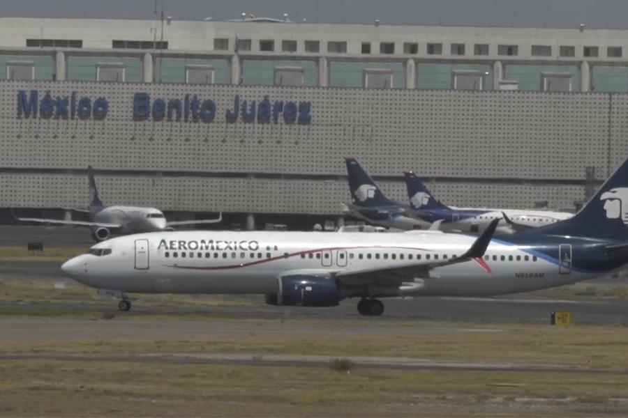Aeroméxico pide acogerse a la ley de bancarrota en Estados Unidos por pandemia