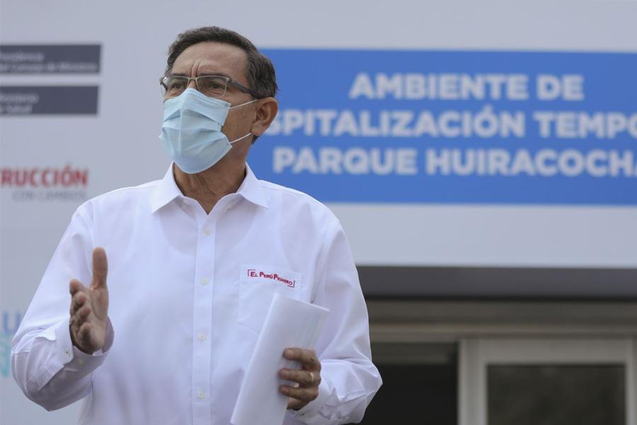 Presidente Vizcarra anuncia que el 27 y 29 de julio serán días laborables
