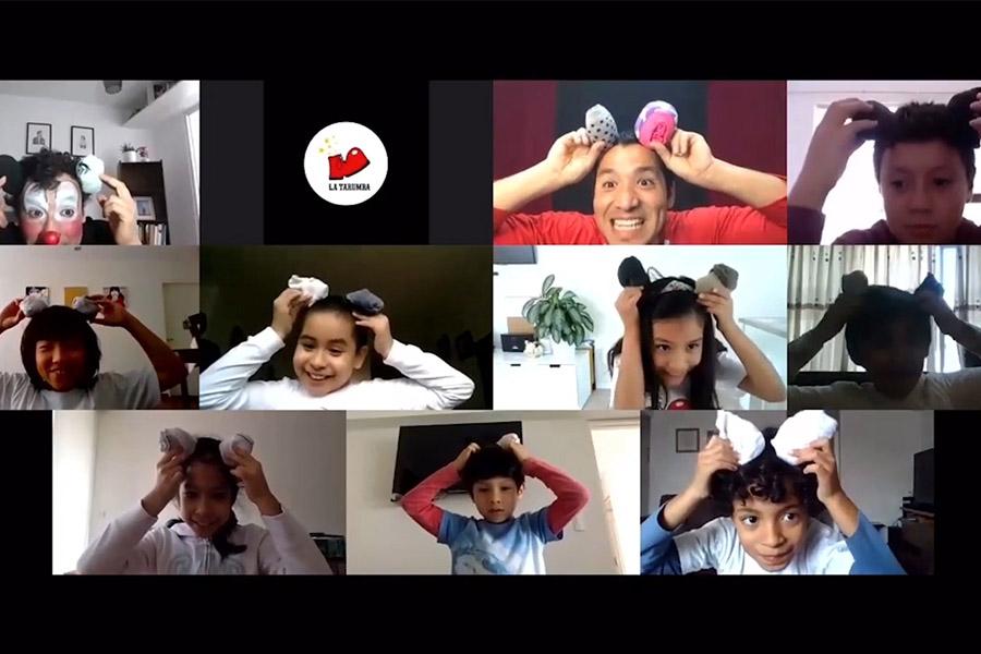 Talleres virtuales: cómo apoya La Tarumba a los niños en cuarentena
