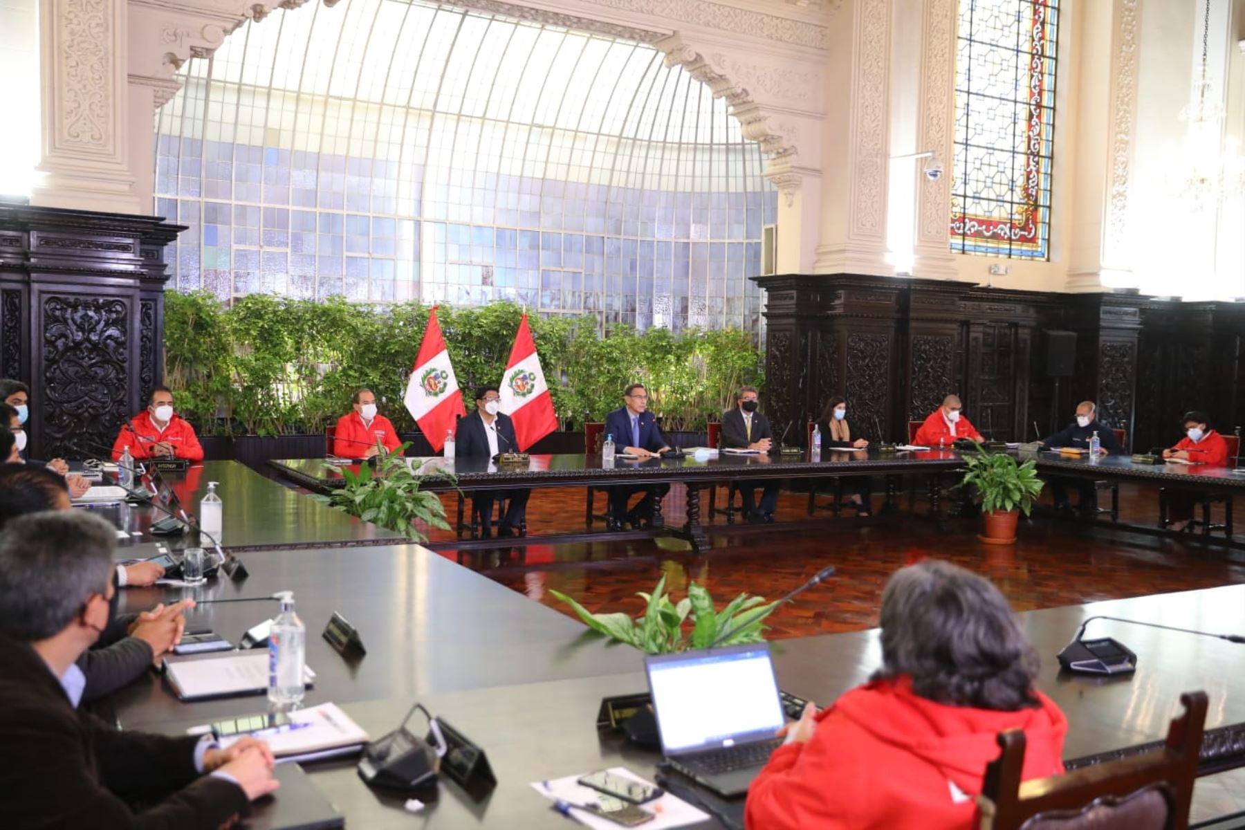 Presidente: la meta es reactivar la economía el 95% en julio