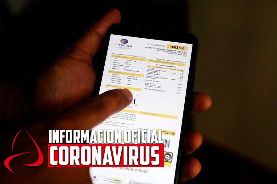 Coronavirus: Información Oficial en Andina