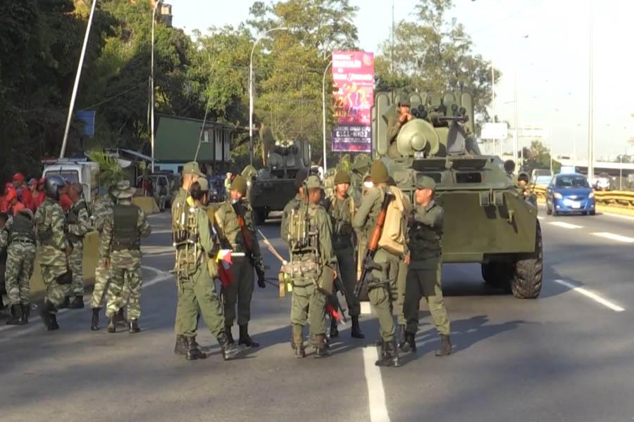 Más de un centenar de militares venezolanos tienen COVID-19