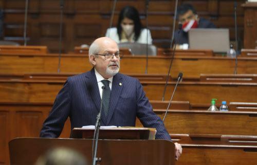 Acuerdo Nacional organizará agenda del Pacto Perú, anuncia jefe del Gabinete