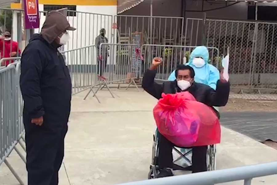 Coronavirus: paciente 150 fue dado de alta en Centro de Atención en El Agustino