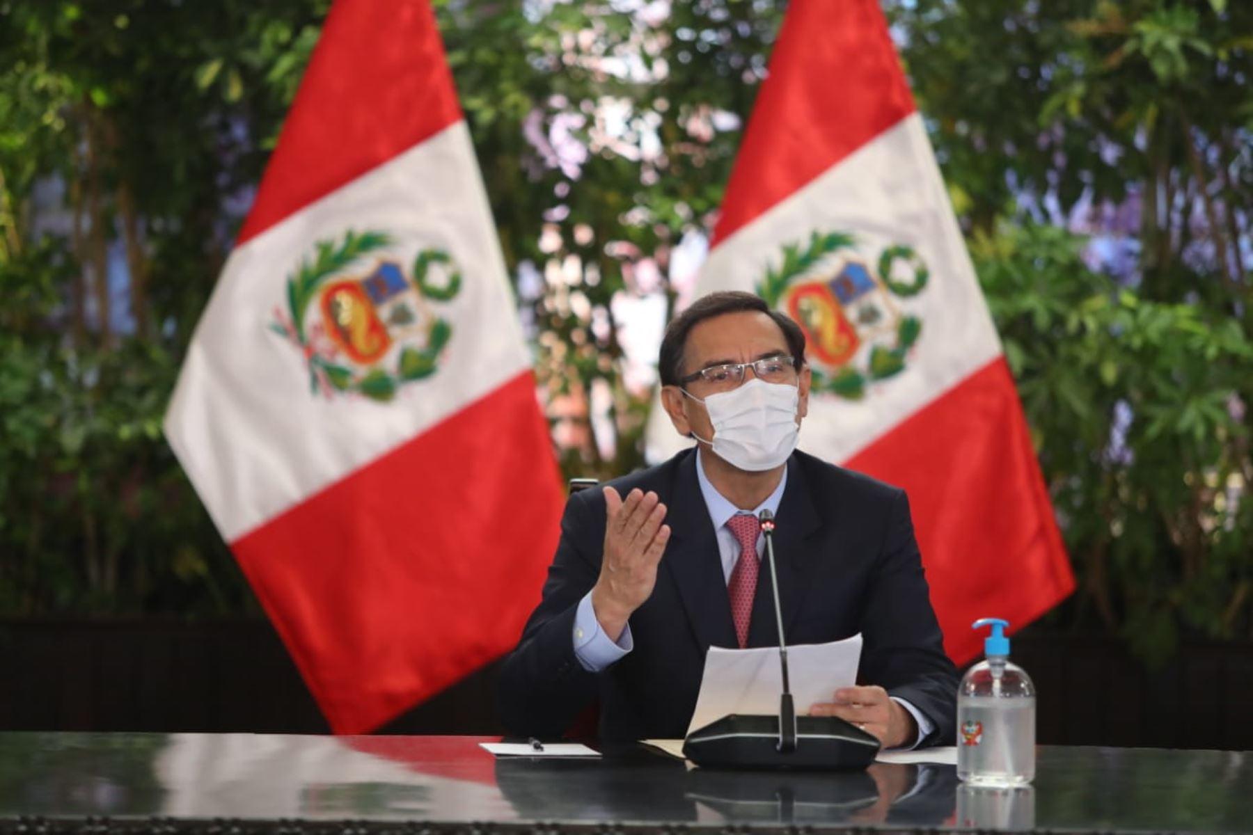 Presidente Vizcarra: es el momento de la unidad y el consenso