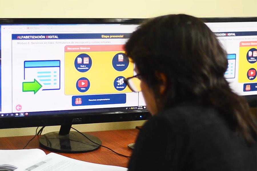 "Minedu inicia curso de ""Alfabetización Digital"" para docentes"