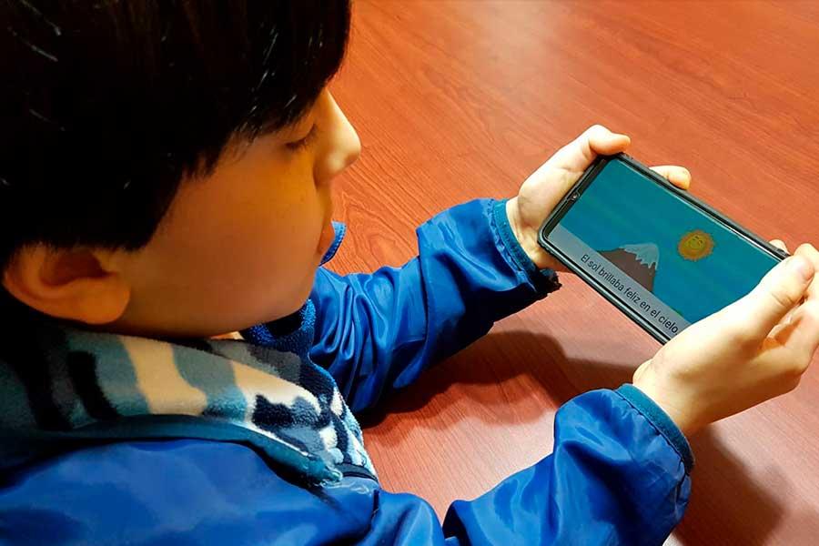 Correpalabras: app en español y quechua que motiva lectura en niños