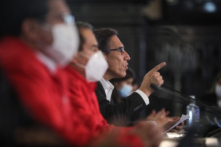 Gobierno decreta cuarentena focalizada en cinco departamentos y 34 provincias