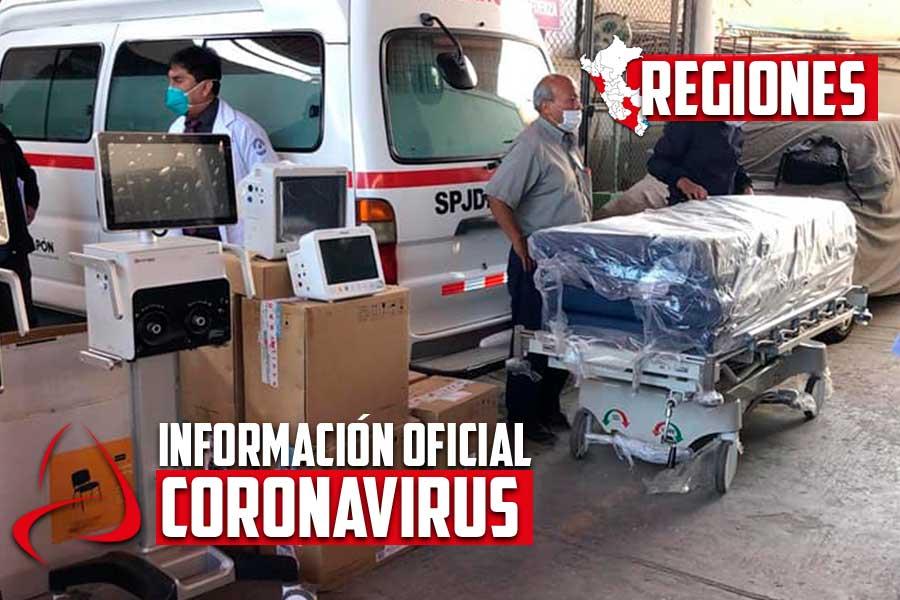 Coronavirus en Perú: entregan equipos para implementar camas UCI en Arequipa