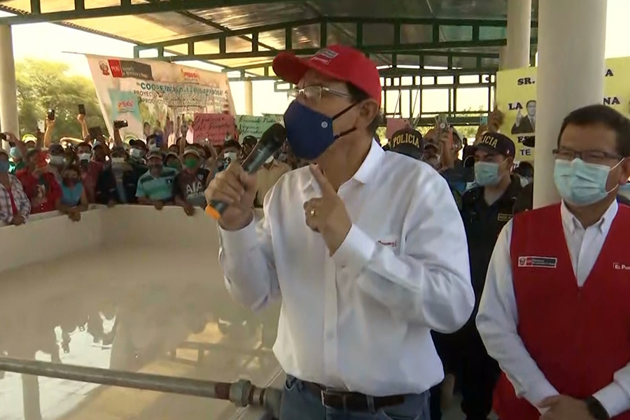 Presidente Vizcarra visita Piura para supervisar proyectos del sector agrícola