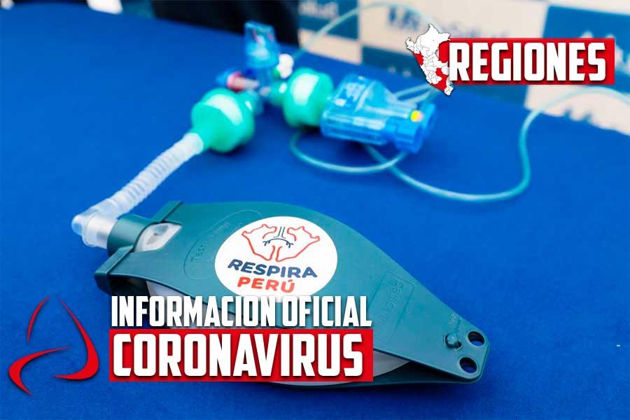 Coronavirus en Perú: entregan 60 ventiladores mecánicos en Arequipa