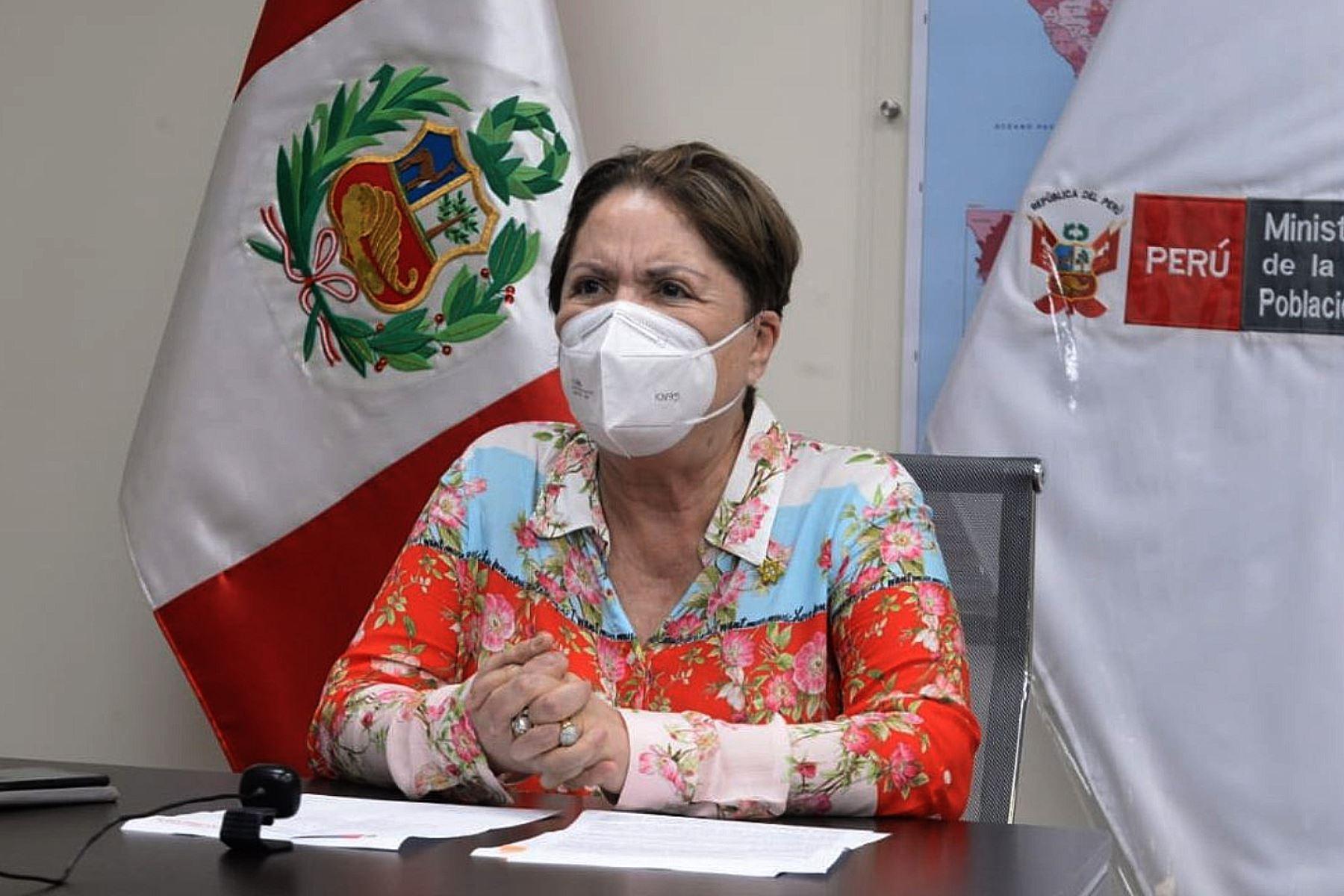 Ministra de la Mujer apela a la responsabilidad y compromiso del Congreso
