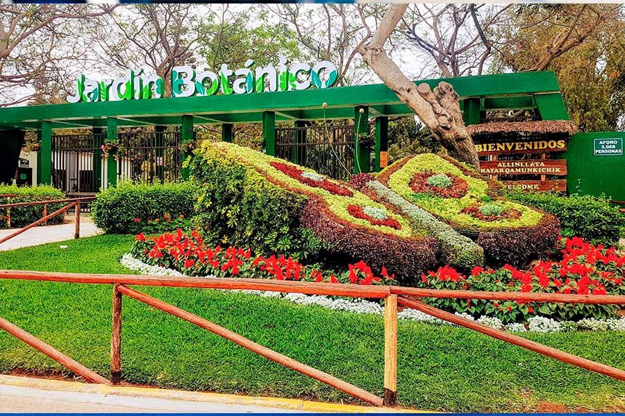 Jardín Botánico, un oasis en la capital limeña