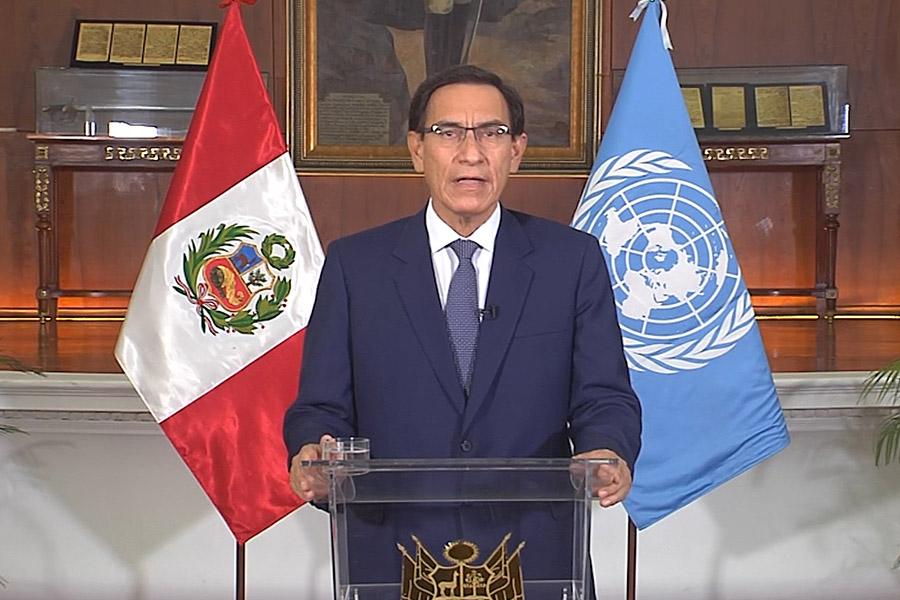 Presidente Vizcarra pide que vacuna contra covid-19 sea un bien público global