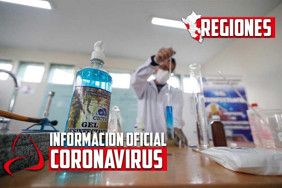 Coronavirus en Perú: UNSA prepara alcohol en gel para universitarios en Arequipa
