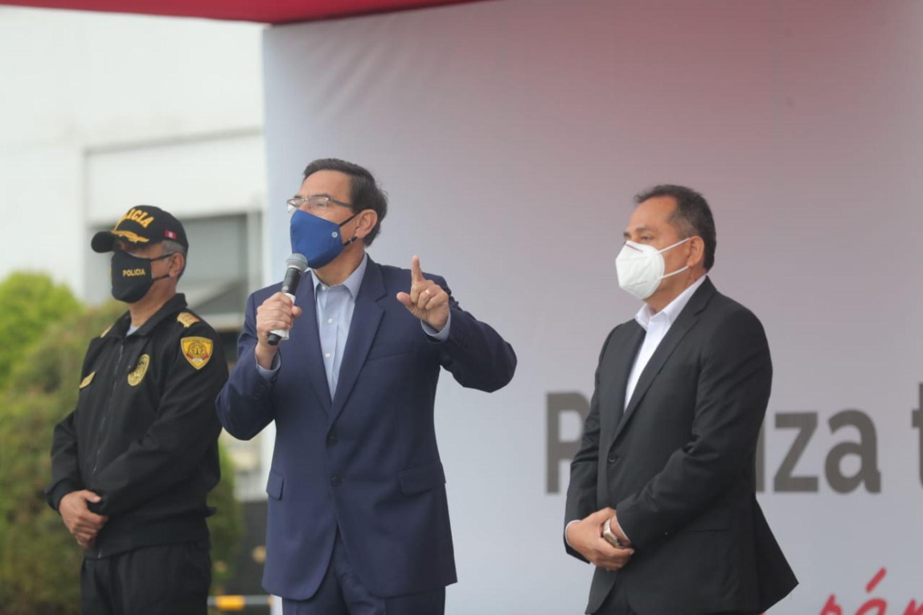Presidente Vizcarra: razón de ser del Gobierno es servir a la población