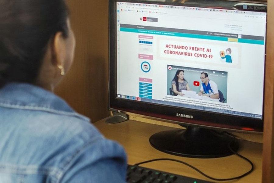 Minedu fortalece competencias docentes frente al covid-19