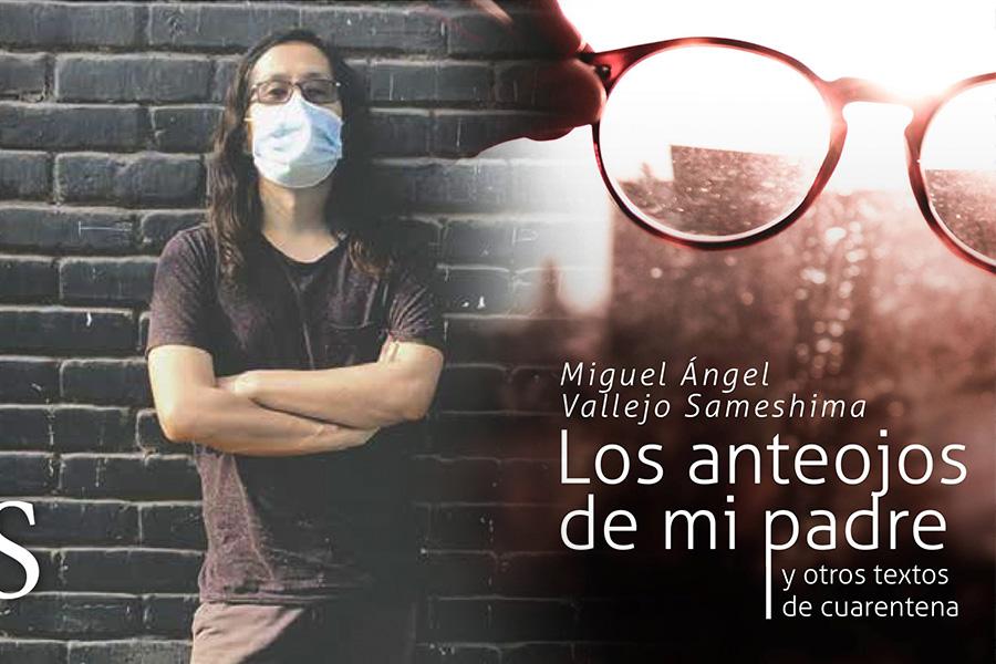 Miguel Ángel Vallejo presenta libro inspirado en la cuarentena