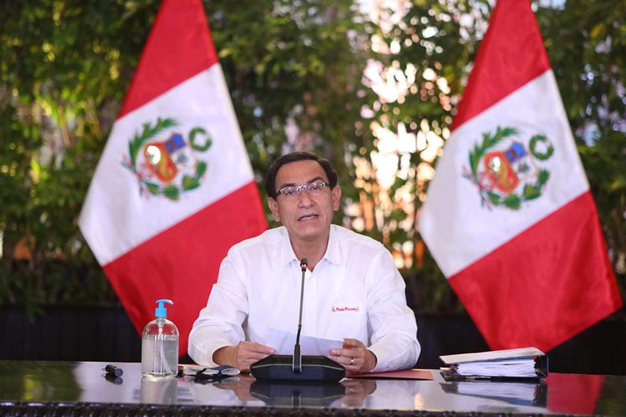 Presidente Vizcarra: el 8 de octubre será día laborable