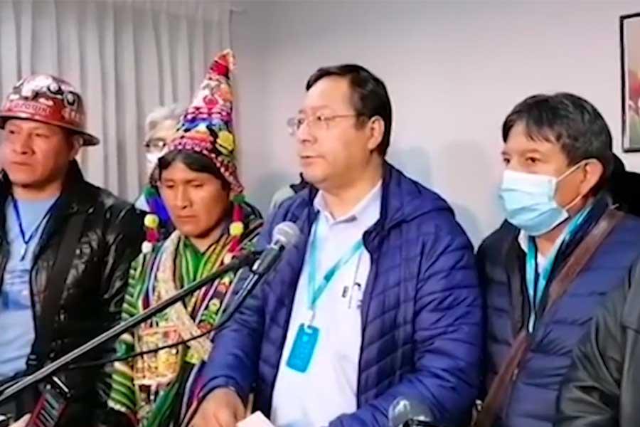Bolivia: Luis Arce se impone en primera vuelta de elecciones presidenciales