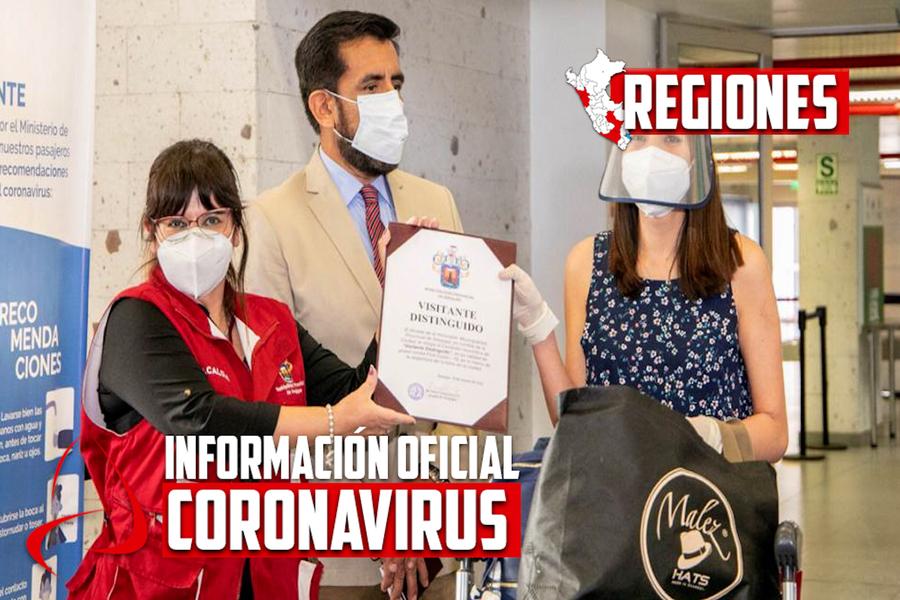 Arequipa: municipalidad provincial condecoró a familia chilena