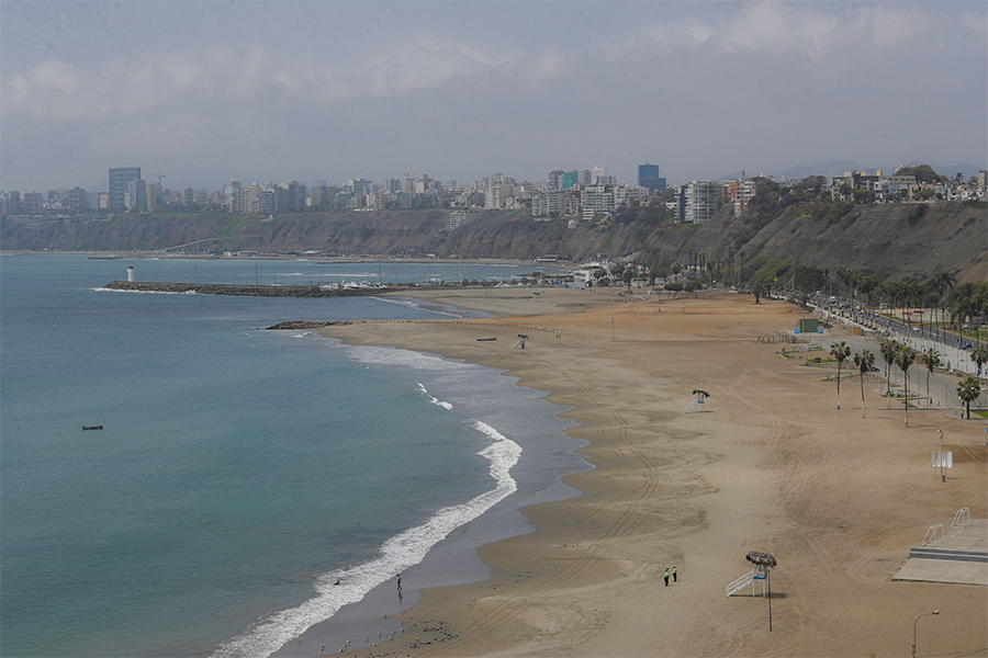 Costa Verde: así luce en primer fin de semana de restricciones
