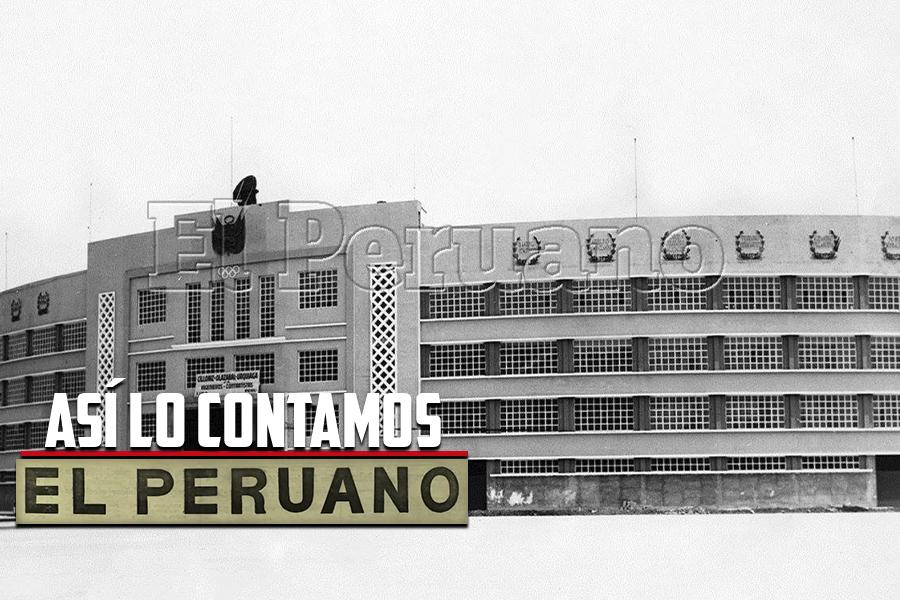 Así lo contamos: A 66 años de la inauguración del Estadio Nacional