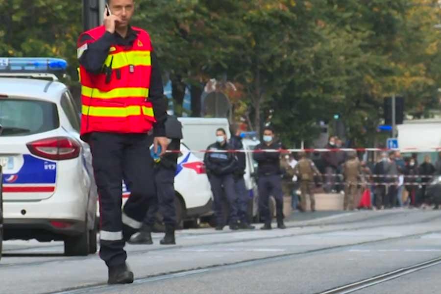 Francia: ataque con cuchillo en iglesia deja 3 fallecido en Niza