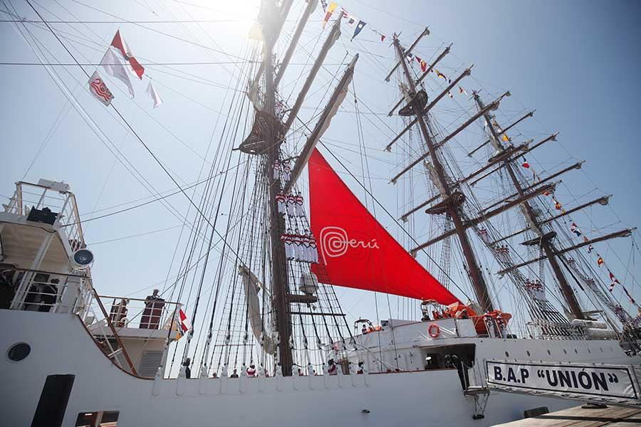 BAP Unión promocionará exportaciones y turismo en el Perú