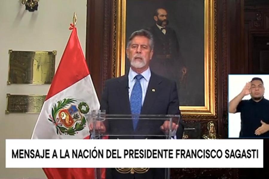 Presidente designa a general César Cervantes como nuevo comandante general de la PNP