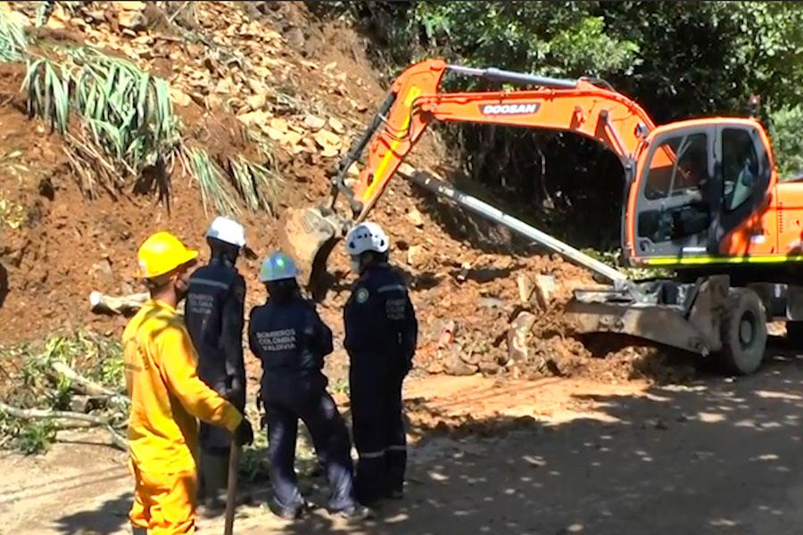 Colombia: deslizamiento de tierra dejó 7 muertos y 11 heridos