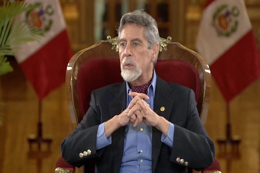 Presidente Sagasti: renovación del alto mando policial fue una decisión constitucional