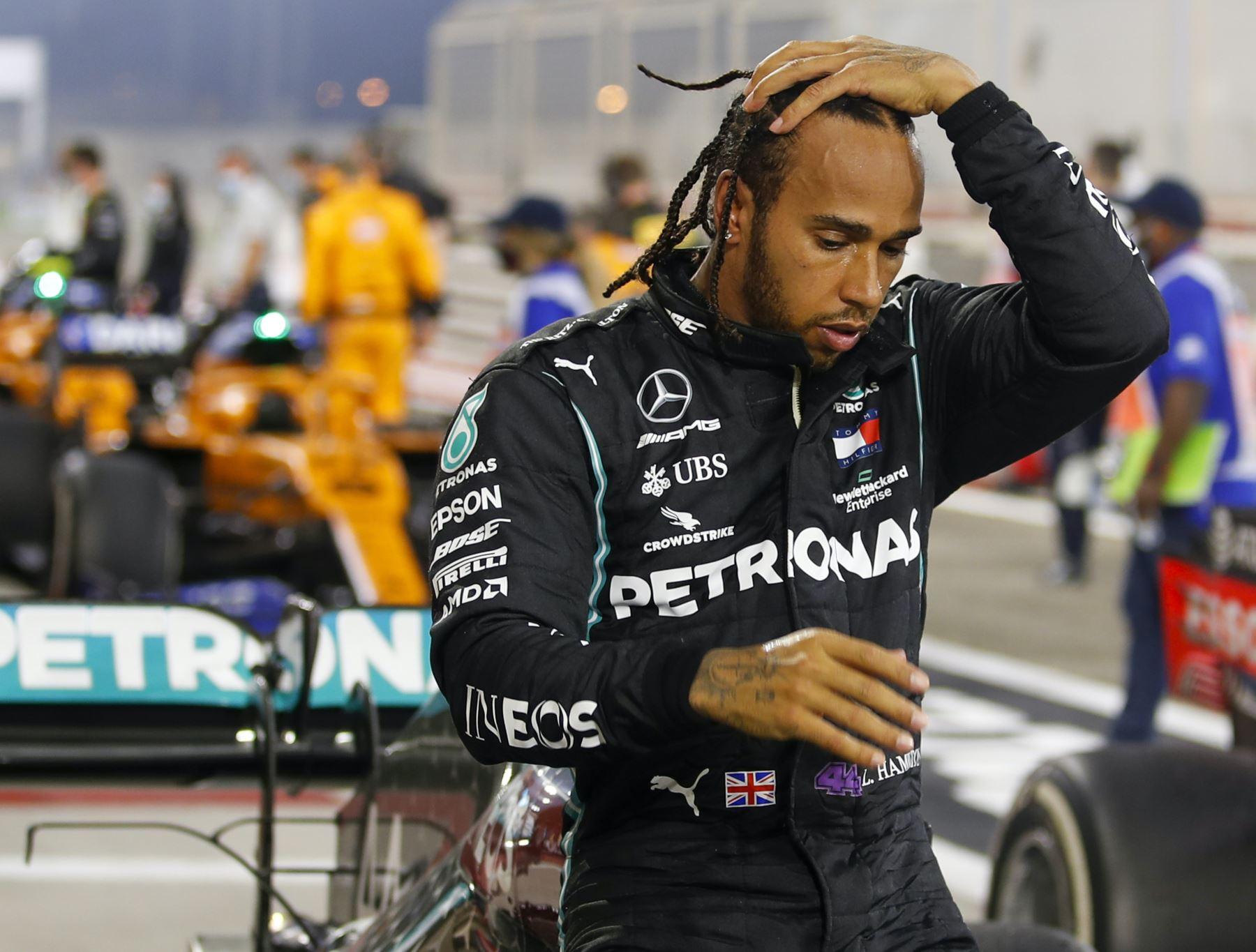 Campeón mundial de Fórmula 1 Lewis Hamilton da positivo a covid-19