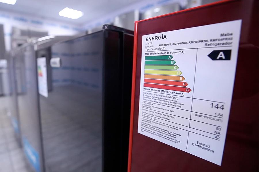 Etiqueta de Eficiencia Energética: indica cuánta energía consume el electrodoméstico