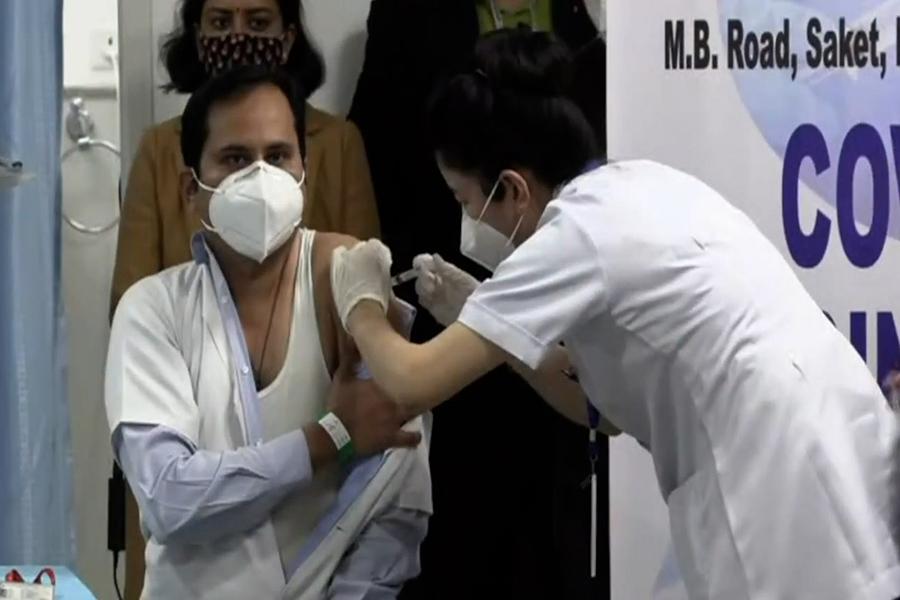 India inicia gran campaña de vacunación contra el coronavirus