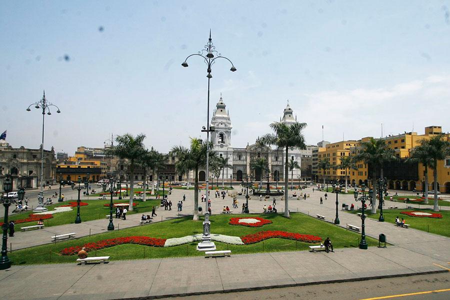 Así se inició la celebración por los 486 años de Lima