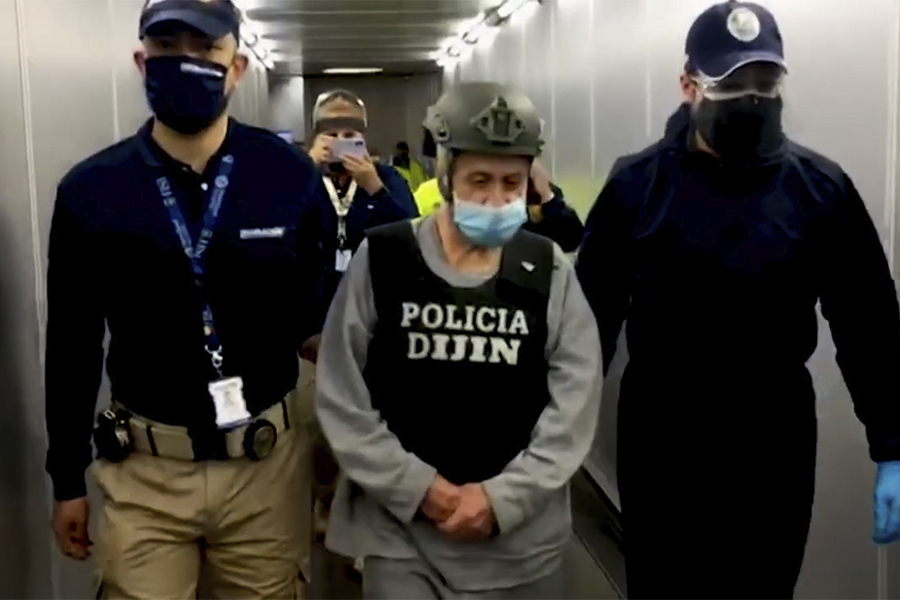Temido exjefe paramilitar es capturado en Colombia tras pagar cárcel en EEUU
