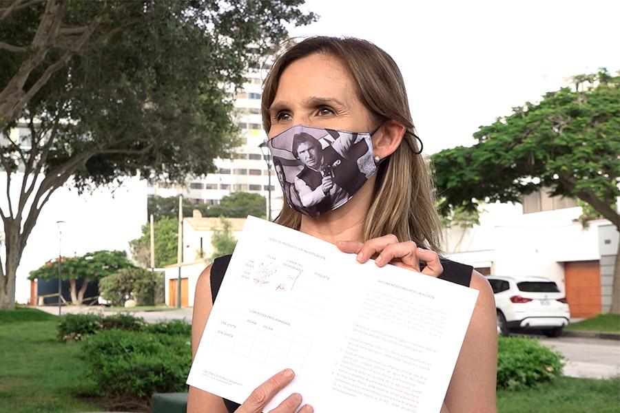 Historias en pandemia: Laly Goyzueta afirma que hizo lo correcto al ser voluntaria