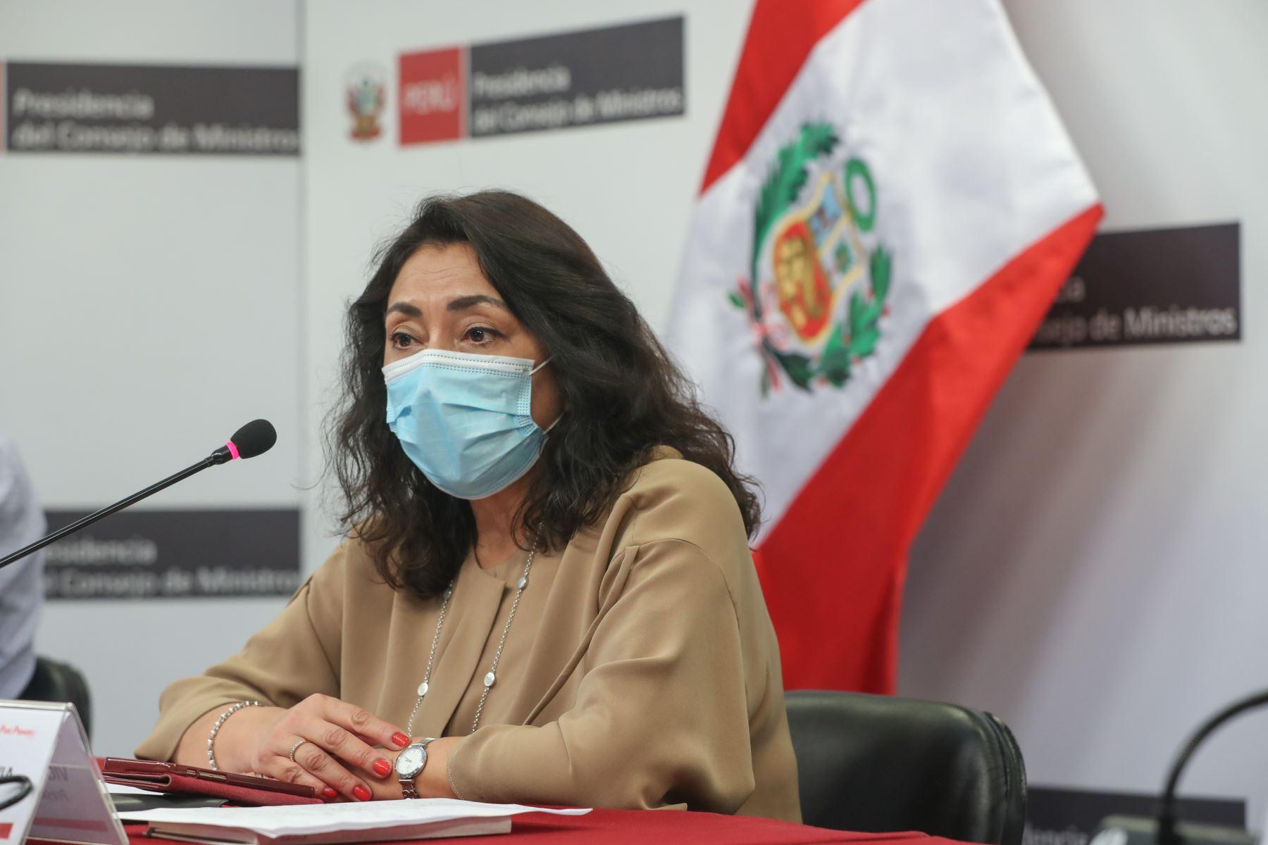 Bermúdez: Gobierno defenderá la salud pública y la democracia