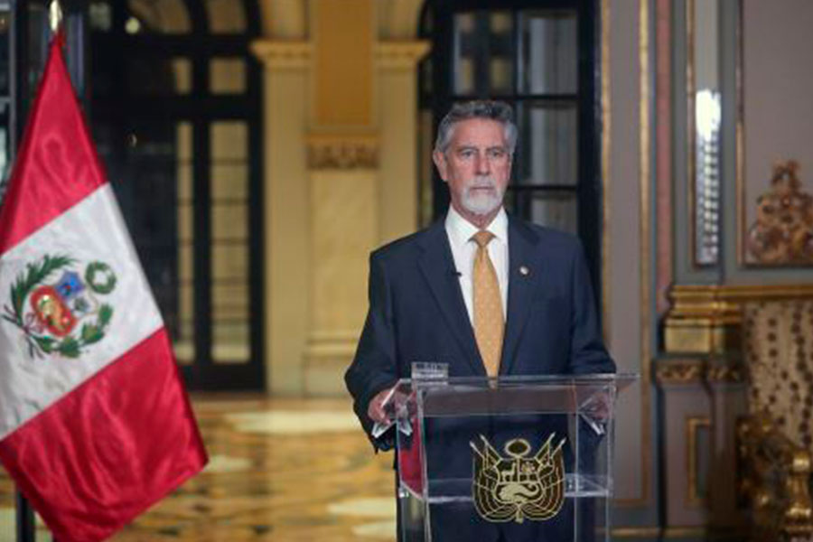 Presidente Sagasti ofreció mensaje a la Nación