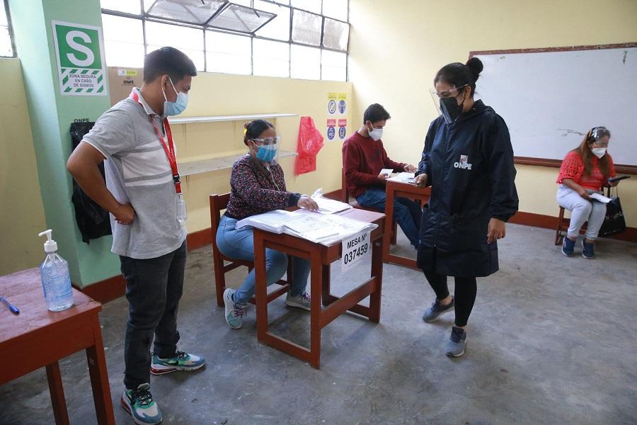 Elecciones 2021: se instaló 94.64% de mesas de sufragio, informa ONPE