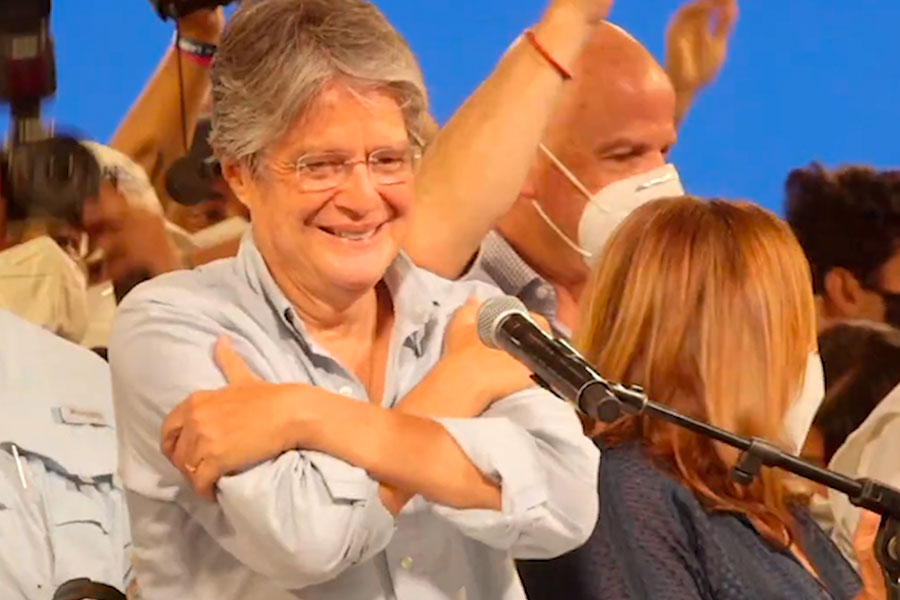 Ecuador: conservador Guillermo Lasso se proclamó presidente electo