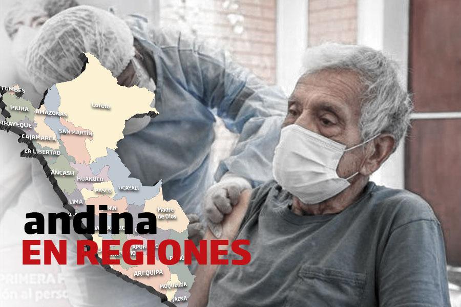 Coronavirus en el Perú: Concluye aplicación de vacuna a 2,340 adultos mayores en Arequipa