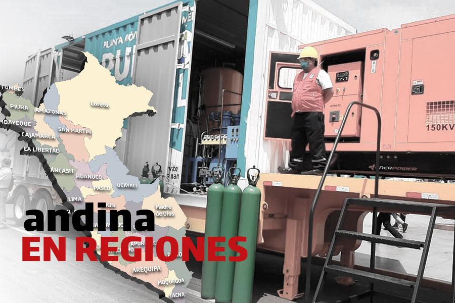 Coronavirus en Perú: adquirirán tercera planta de oxígeno medicinal en Trujillo