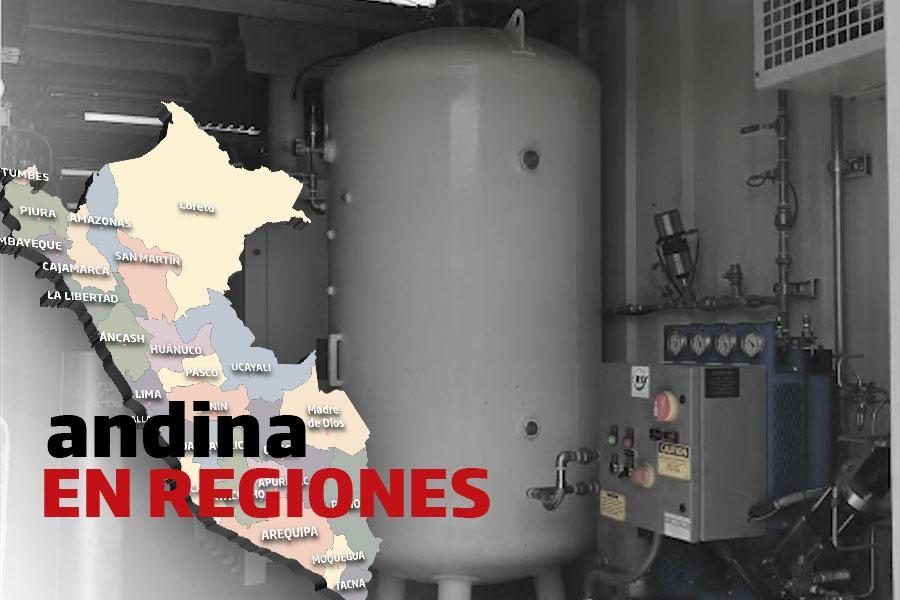 Coronavirus en el Perú: planta de oxígeno móvil funciona al 100% de su capacidad en Cusco