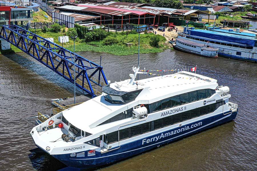 Ferry Amazonas II conectará comunidades a lo largo de 486 km en Loreto