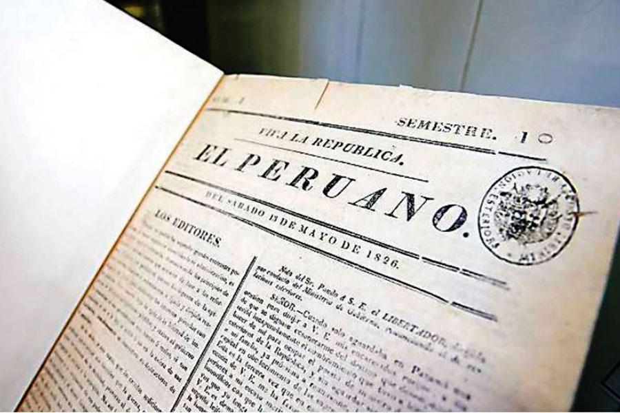 Diario El Peruano ingresó al Registro Peruano Memoria del Mundo de la Unesco