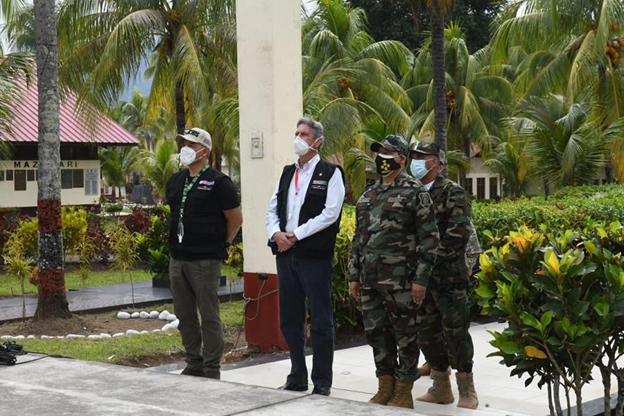 Presidente Sagasti: Gobierno dejará ruta clara en lucha contra las drogas